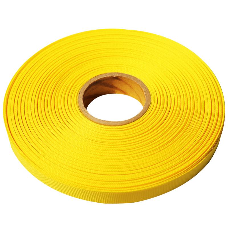 7.리본_골직(Grosgrain)_5mmx50yd_G7_노랑(Yellow)