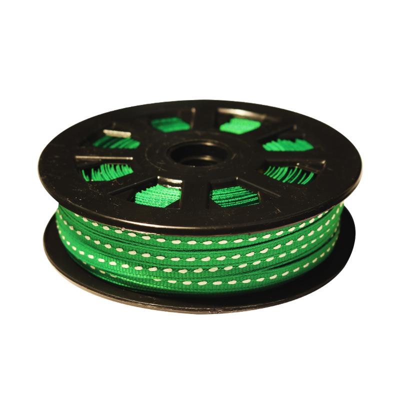 10.리본골직스티치(Grosgrain-Stich)S#10-초록5mmx45m_대표